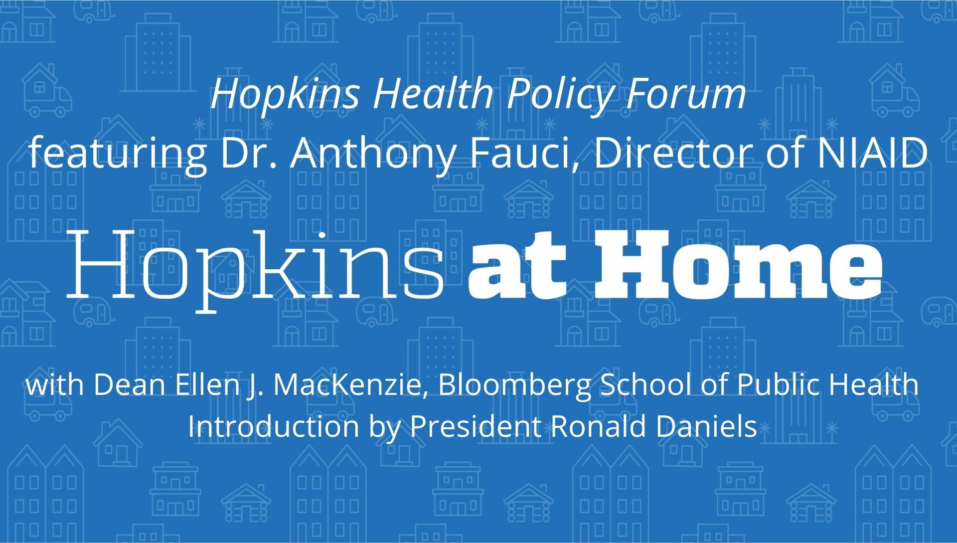 Intro graphic for Health Policy Forum