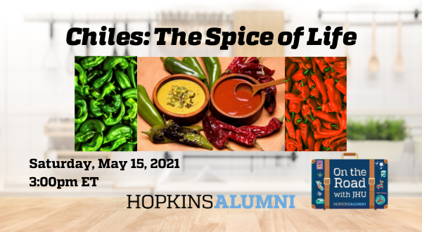 On the Road with JHU: Chiles: The Spice of Life  header image