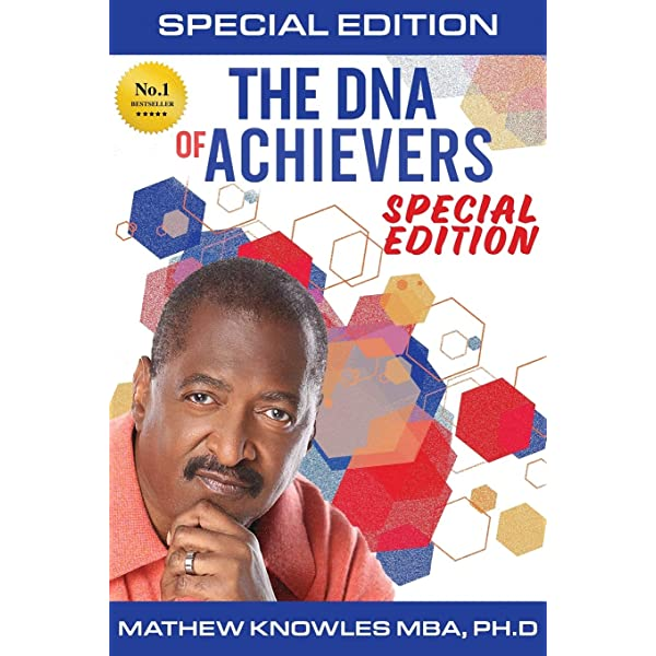 Book Cover of The DNA of Achievers