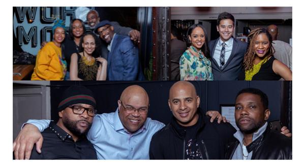 Black Alumni Weekend Social gathering image