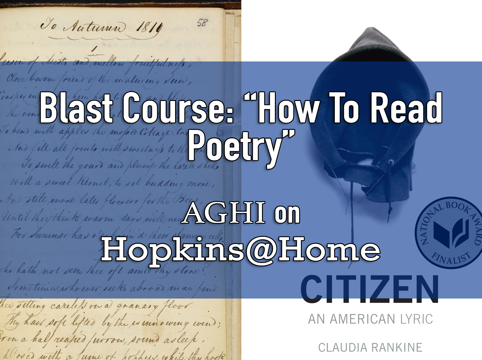 """Blast Course: """"How to Read Poetry"""" header image"""