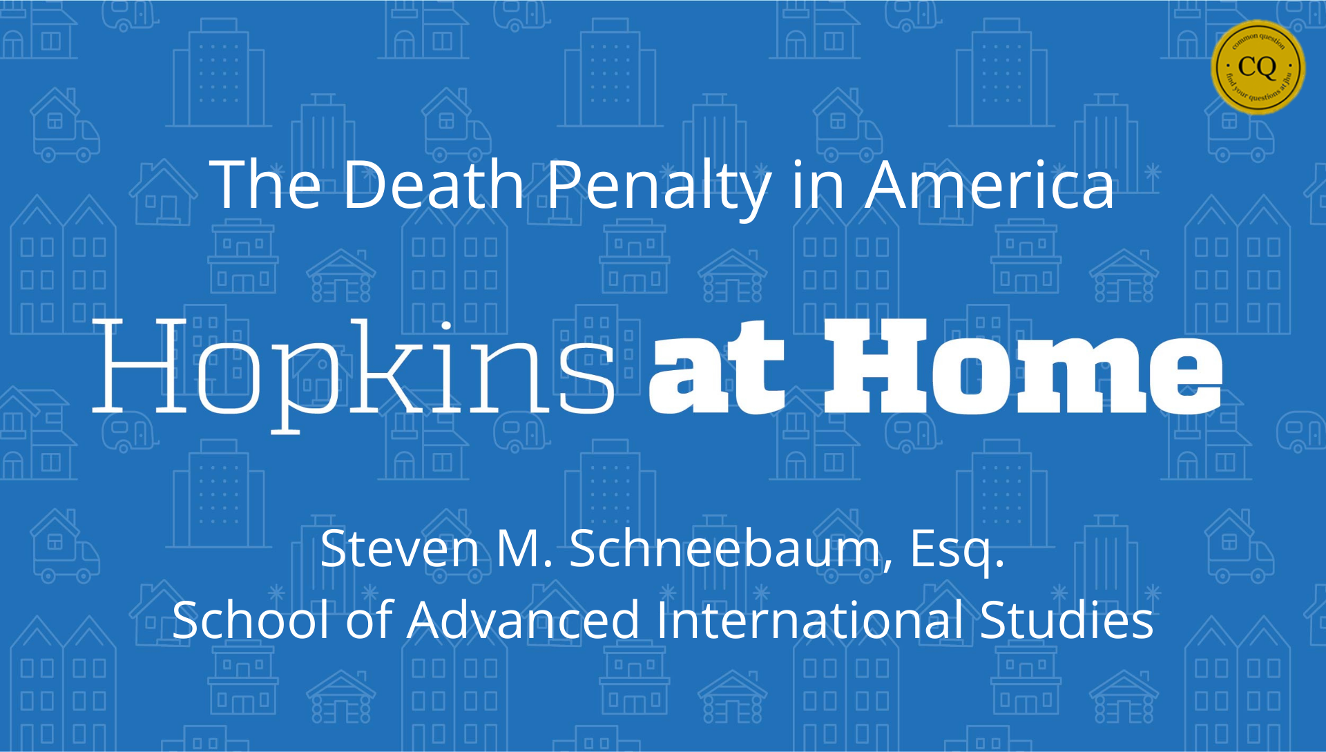 The Death Penalty in America header image
