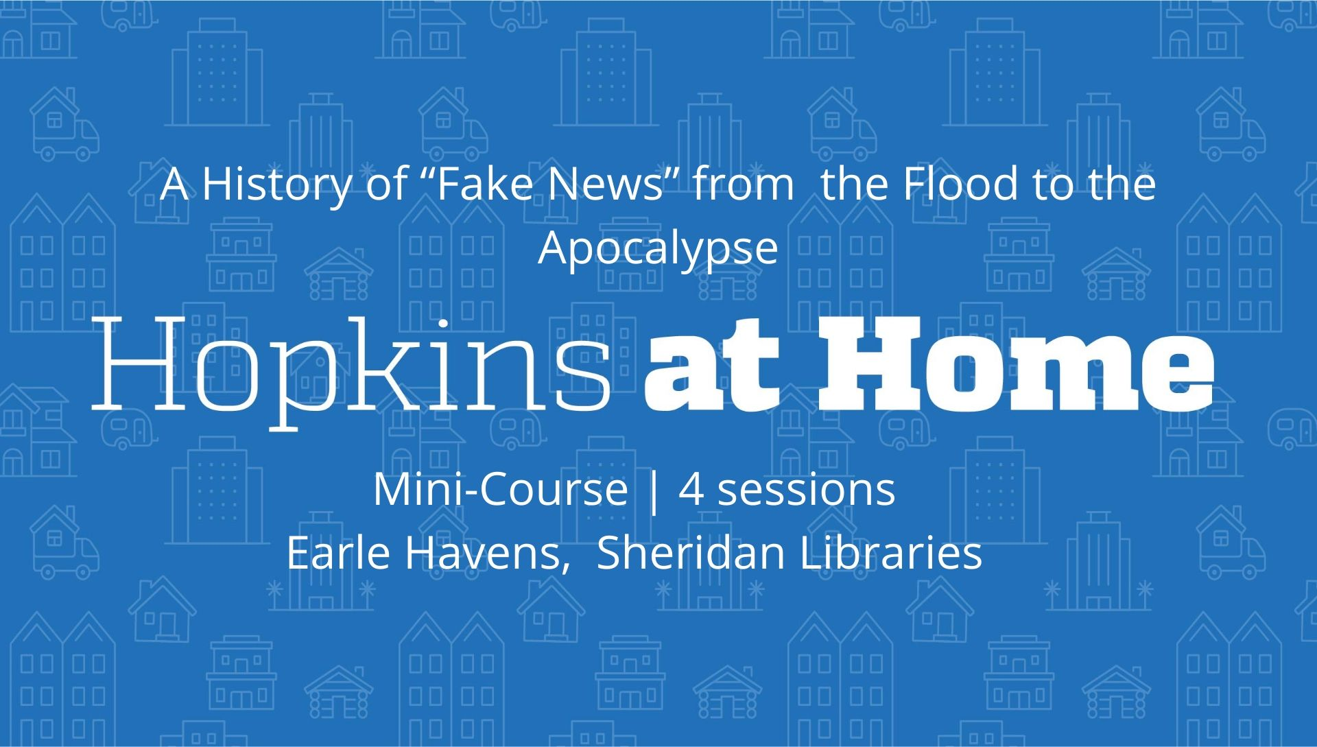 Fake News From the Flood header image
