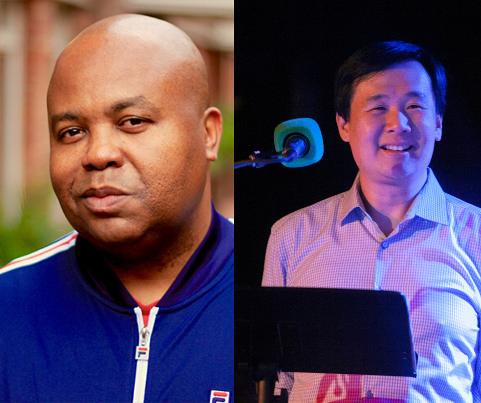 From Law to National Public Radio: A Conversation with Glynn Washington, Host and Executive Producer of Snap Judgment, and Art Chung, Head of Audio Production, Vox Media, Inc.  header image