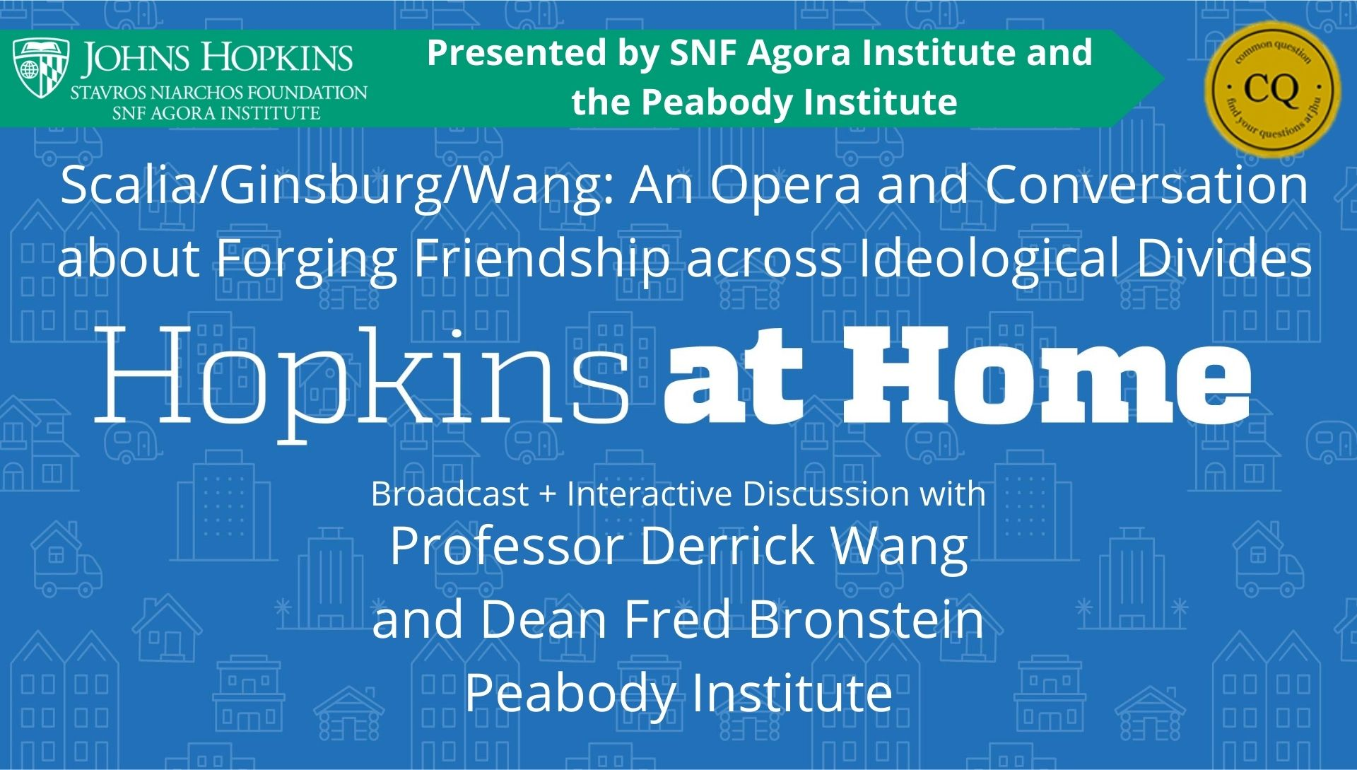 Scalia/Ginsburg/Wang: An Opera and Conversation about Forging Friendship across Ideological Divides Header Image
