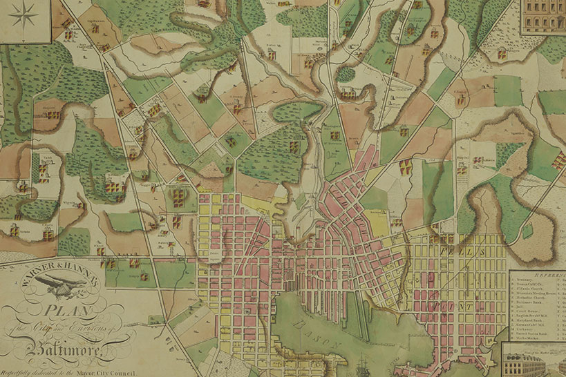 Lunch with the Libraries & Museums - The Foundation and the Gateway: What Maps Show and Hide about Baltimore and American History header image