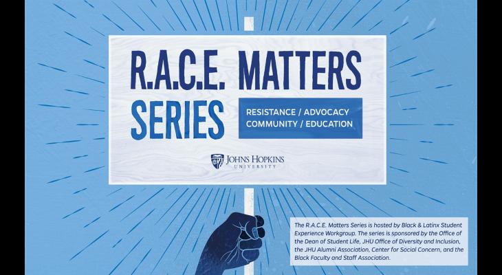R.A.C.E. Matters Speaker Series  header image