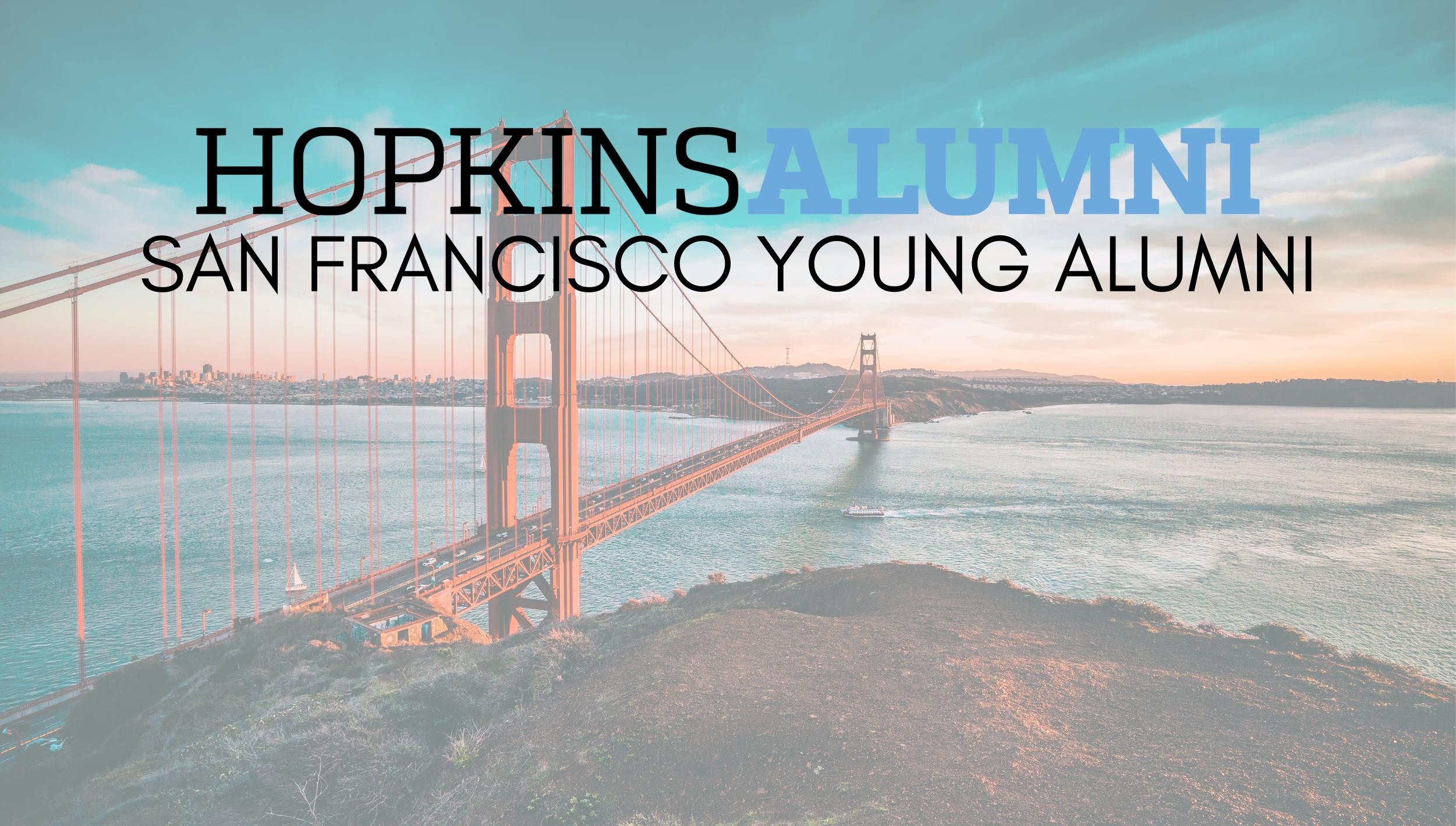 San Francisco skyline, Hopkins Alumni San Francisco Young Alumni
