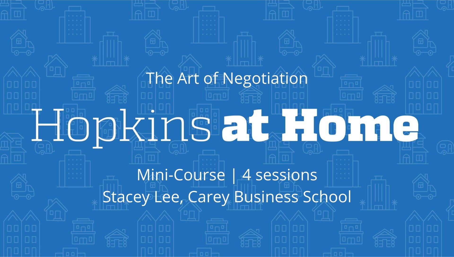 Art of Negotiation header image