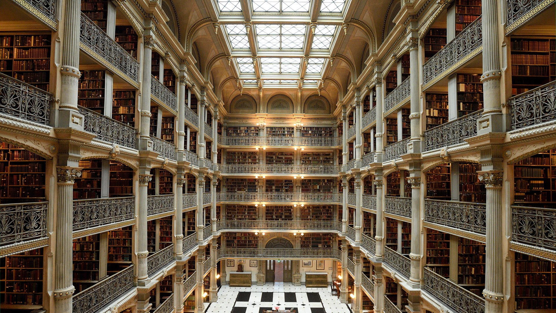 Lunch with the Libraries - A Curator's Tour of the George Peabody Library header image