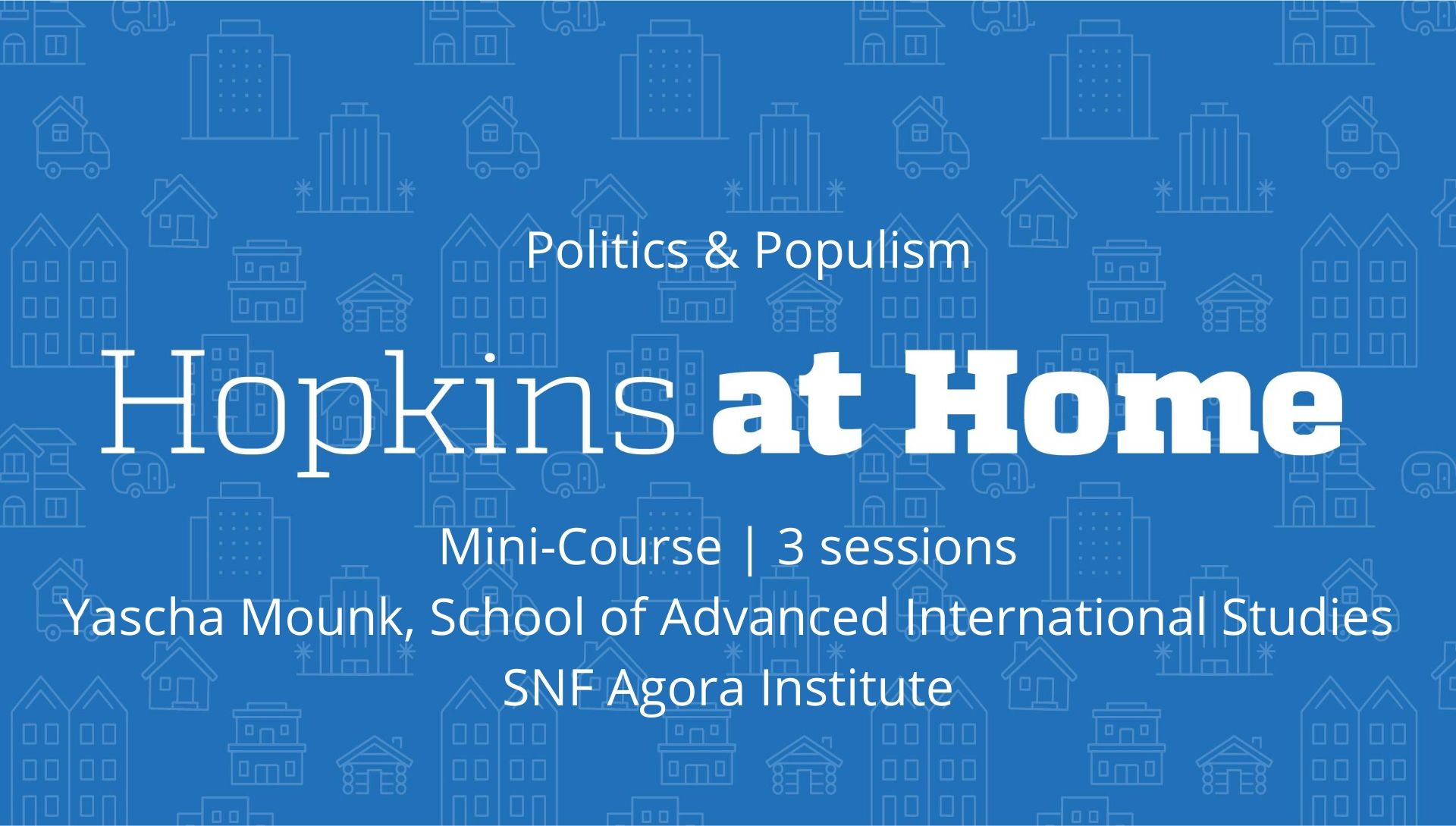 Politics and Populism header image
