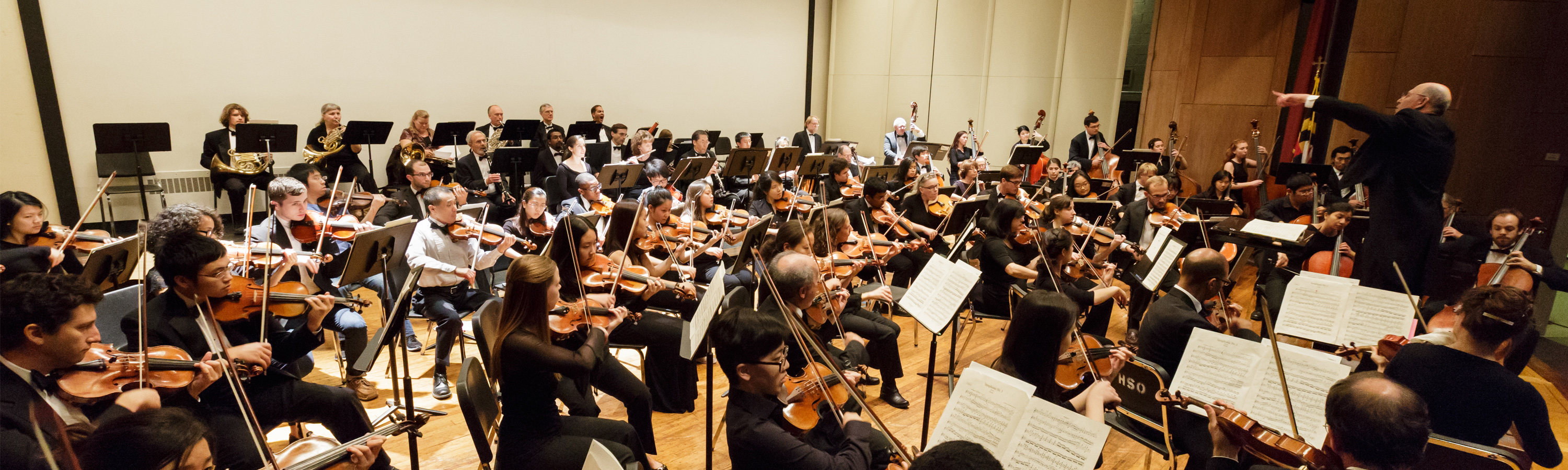 Hopkins Symphony Orchestra Evenings Part I - Star-Crossed: Tchaikovsky's Romeo and Juliet and Bernstein's Symphonic Dances from West Side Story  header image